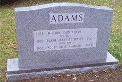 Carol J <i>Irvine</i> Adams