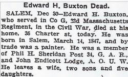 Edward Hale Buxton