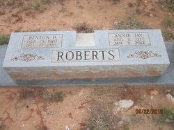 Annie Jay <i>Brown</i> Roberts