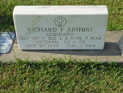 Sgt Richard Franklin Abshire