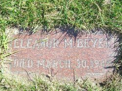 Eleanor Marie <i>Boll</i> Beyer
