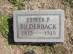 Esther P Bilderback