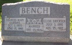 Clyde Erickson Bench