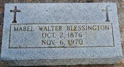Mabel Elizabeth <i>Walter</i> Blessington