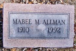 Mabel Modine <i>Jones</i> Allman