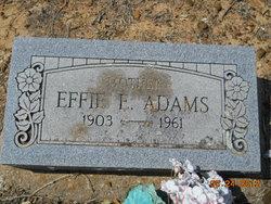 Effie E <i>Townsend</i> Adams