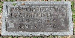Infant Daughter Bethel