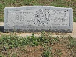 Effie Ozette <i>Bennett</i> Rainey