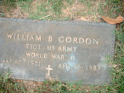 William Bradshaw Gordon, Jr