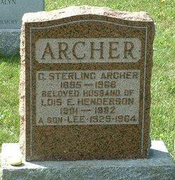 Roland Lee Archer