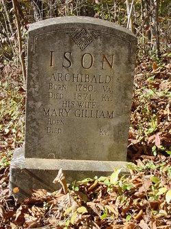 Mary Polly <i>Gilliam</i> Ison