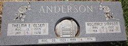 Thelma E <i>Olsen</i> Anderson
