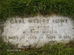 Carl Wesley Lowe