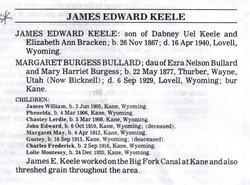 James Edward Keele
