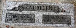 Virginia R <i>Newcomb</i> Andresen