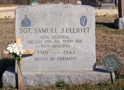 Sgt Samuel J Junior Elliott, Jr