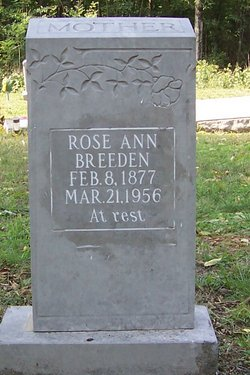 Rose Ann <i>Hawkins</i> Breeden