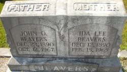 Ida Lee <i>Thurmond</i> Beavers