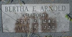 Bertha Ann <i>Fulford</i> Arnold