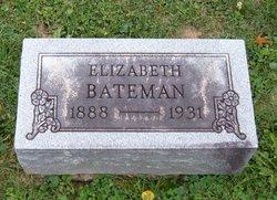 Elizabeth Lizzie <i>Parry</i> Bateman