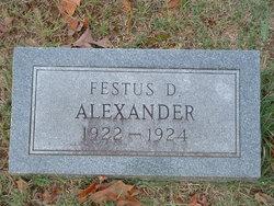 Festus D. Alexander