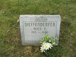 Alice E Dieffenderfer