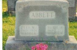 Susie Ann <i>Forrester</i> Abbett