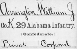 Corp William James Arrington