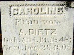 Caroline <i>Voelkner</i> Dietz