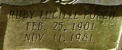 Ruby Lucille <i>Porch</i> Childers