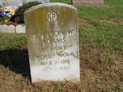 Pearson W Adams