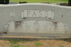 Ethel Pauline <i>Rutherford</i> Pass
