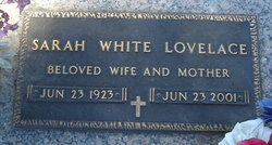 Sarah <i>White</i> Lovelace