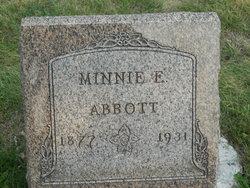 Minnie E. <i>Alms</i> Abbott