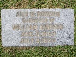 Ann M. Dobson