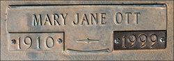 Mary Jane <i>Ott</i> Allen