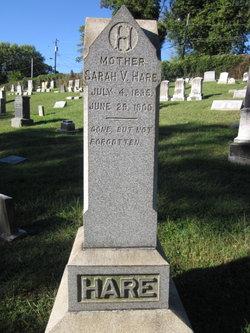 Sarah V Hare