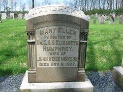 Mary Ellen <i>Humphrey</i> Hickson