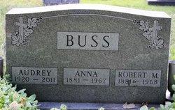 Anna <i>Bliese</i> Buss