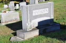 Sgt Maj Robert Edwin Hathorn
