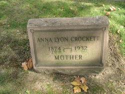 Anna <i>Lyon</i> Crockett