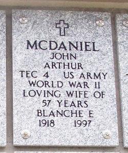 Blanche E McDaniel