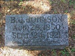 Benjamin Jasper Johnson