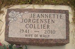 Jeannette Elaine <i>Jorgensen</i> Collier