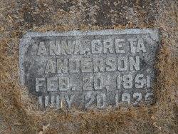 Anna Greta Anderson