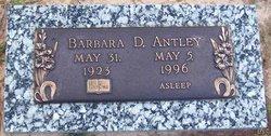 Barbara D Antley