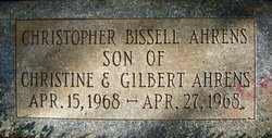 Christopher <i>Bissell</i> Ahrens