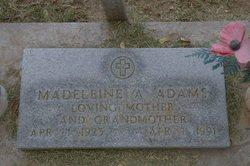 Madeleine Adolphine <i>Rensonnet</i> Adams
