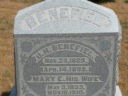 Mary E. <i>Sample</i> Benefiel