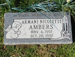 Armani Nicolette Ambers